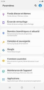 Samsung Galaxy J6 Plus - Données - créer une sauvegarde avec votre compte - Étape 4