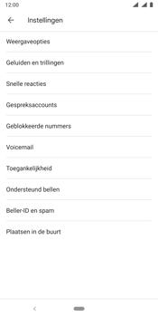 Nokia 9 - Voicemail - handmatig instellen - Stap 7