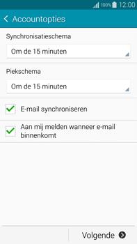 Samsung N910F Galaxy Note 4 - E-mail - Handmatig instellen - Stap 17