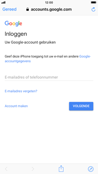 Apple iPhone 8 Plus - iOS 12 - E-mail - handmatig instellen (gmail) - Stap 6