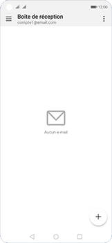 Huawei Nova 5T - E-mail - configuration manuelle - Étape 4