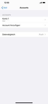 Apple iPhone XS Max - iOS 14 - E-Mail - Manuelle Konfiguration - Schritt 16