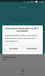 Huawei Y3 - Toestel - Software update - Stap 6