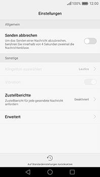 Huawei P9 Plus - SMS - Manuelle Konfiguration - Schritt 6