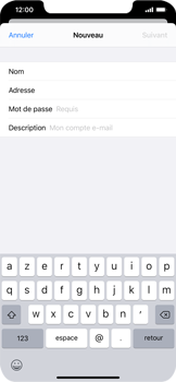 Apple iPhone XS Max - iOS 13 - E-mail - Configuration manuelle - Étape 9