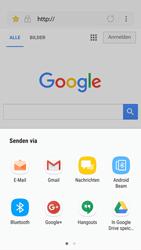 Samsung Galaxy S6 - Android Nougat - Internet und Datenroaming - Verwenden des Internets - Schritt 19