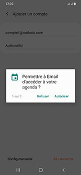 Samsung Galaxy A20e - E-mails - Ajouter ou modifier votre compte Outlook - Étape 10
