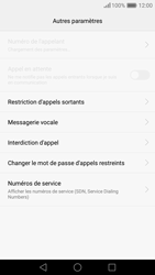 Huawei Nova - Messagerie vocale - Configuration manuelle - Étape 6