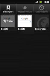 Sony ST27i Xperia Go - Internet - hoe te internetten - Stap 11