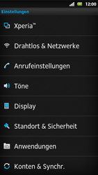 Sony Xperia Sola - Ausland - Im Ausland surfen – Datenroaming - Schritt 6