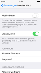 Apple iPhone 5s - Internet - Manuelle Konfiguration - Schritt 4