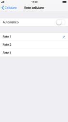 Apple iPhone 7 - iOS 12 - Rete - Selezione manuale della rete - Fase 7