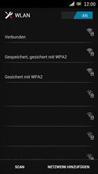 Sony Ericsson Xperia Ray mit OS 4 ICS - WLAN - Manuelle Konfiguration - 1 / 1