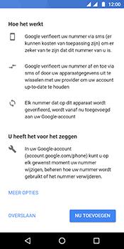 Motorola Moto G6 - apps - account instellen - stap 14