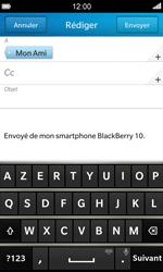 BlackBerry Z10 - E-mail - envoyer un e-mail - Étape 8
