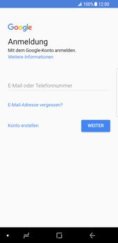 Samsung Galaxy S8 - Android Oreo - Apps - Einrichten des App Stores - Schritt 4
