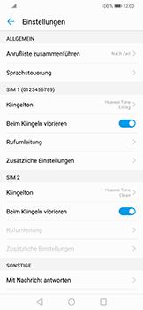 Huawei Nova 3 - Anrufe - Rufumleitungen setzen und löschen - Schritt 5