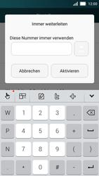 Huawei Y5 - Anrufe - Rufumleitungen setzen und löschen - Schritt 7