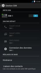 Wiko jimmy - Internet et roaming de données - Comment vérifier que la connexion des données est activée - Étape 7