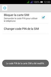 Alcatel Pixi 3 Dual Sim - Sécuriser votre mobile - Personnaliser le code PIN de votre carte SIM - Étape 14