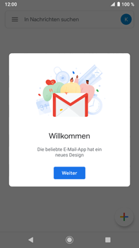 Sony Xperia XZ2 Premium - Android Pie - E-Mail - Konto einrichten (gmail) - Schritt 14