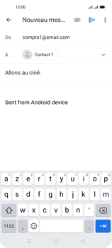 Oppo Reno 4 Pro - E-mails - Envoyer un e-mail - Étape 8