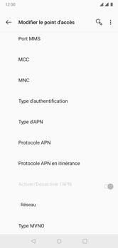 OnePlus 6 - Internet - Configuration manuelle - Étape 12