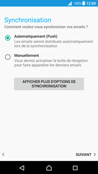 Sony Xperia Z5 Premium (E6853) - Android Nougat - E-mail - Configuration manuelle (outlook) - Étape 13