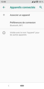 Crosscall Core M4 - Internet et connexion - Connexion avec un équipement multimédia via Bluetooth - Étape 6