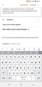 Samsung Galaxy A8 Plus (2018) - E-Mail - E-Mail versenden - 0 / 0