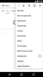 LG Nexus 5X - Android Oreo - Internet - Internet browsing - Step 12
