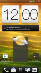 HTC One S - Getting started - Installing widgets and applications on your start screen - Step 7