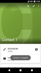 Sony Xperia XA2 - Contact, Appels, SMS/MMS - Ajouter un contact - Étape 11