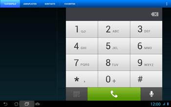 Asus Padfone 2 - Anrufe - Rufumleitungen setzen und löschen - Schritt 5