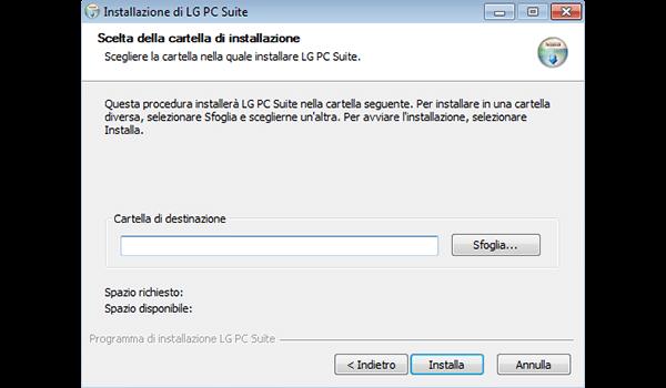 LG G3 - Software - Installazione del software di sincronizzazione PC - Fase 8