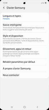 Samsung Galaxy A51 - Prise en main - Comment ajouter une langue de clavier - Étape 8