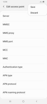 Samsung Galaxy A70 - MMS - Manual configuration - Step 15