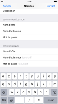 Apple iPhone 6 Plus - iOS 12 - E-mail - Configuration manuelle - Étape 15