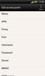 HTC Desire X - MMS - Manual configuration - Step 8