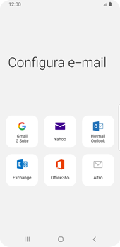 Samsung Galaxy S9 - Android Pie - E-mail - 032c. Email wizard - Outlook - Fase 6