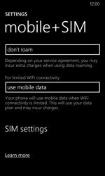 Nokia Lumia 630 - Internet - Manual configuration - Step 7