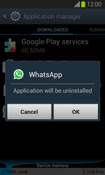 Samsung Galaxy Trend Lite - Applications - How to uninstall an app - Step 7