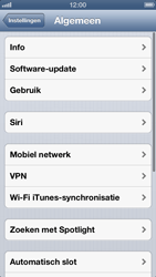 Apple iPhone 5 - Internet - Mobiele data uitschakelen - Stap 4