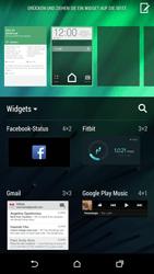HTC One M8 - Startanleitung - Installieren von Widgets und Apps auf der Startseite - Schritt 4