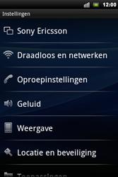 Sony Ericsson Xperia Mini Pro - Internet - aan- of uitzetten - Stap 4