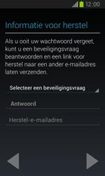 Samsung I9105P Galaxy S II Plus - apps - account instellen - stap 8