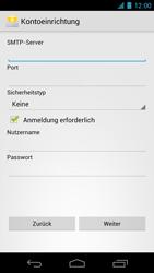 Samsung I9250 Galaxy Nexus - E-Mail - Konto einrichten - Schritt 11