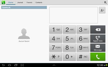 Samsung N8000 Galaxy Note 10-1 - Messagerie vocale - Configuration manuelle - Étape 4