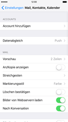 Apple iPhone 6s - E-Mail - Konto einrichten (outlook) - Schritt 4