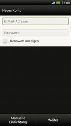 HTC One X - E-Mail - Konto einrichten - 0 / 0